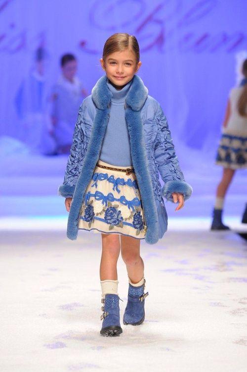 Kid Style: Miss Blumarine A/W 2014 | AFancyGirlMust.com