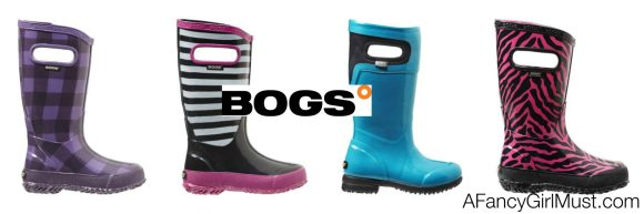 Puddle Jumping: Bogs Rain Boots for Girls  | AFancyGirlMust.com