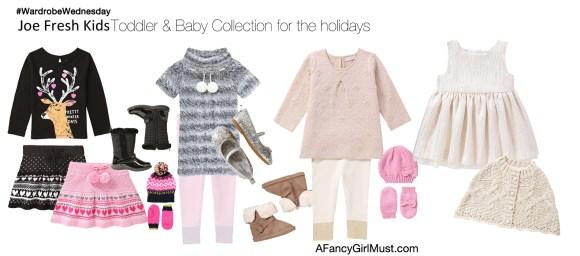 Joe Fresh Kids - Toddler & Baby Holiday Looks | AFancyGirlMust.com