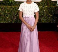 Celebrity Look 4 Less: Quvenzhane Wallis's Golden Globes Look   AFancyGirlMust.com