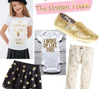 Friday Fresh Picks: 10 Ways the Gold Trend for Kids is the Best Ever!   AFancyGirlMust.com