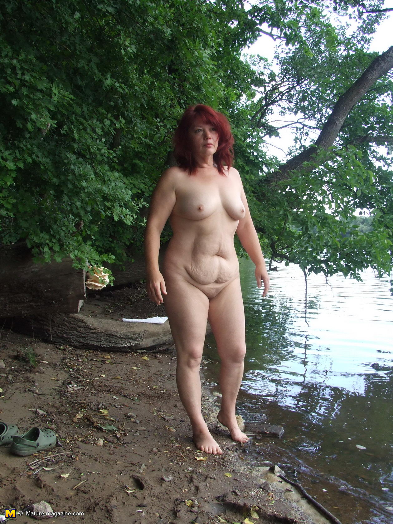granny and mature group outdoors
