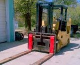 30,000lbs. Elwell Parker Solid-Tired Forklift 5