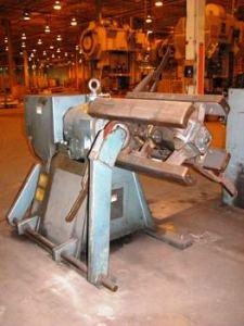 10,000lb. Capacity CWP Straightener Servo Feedline For Sale (6)