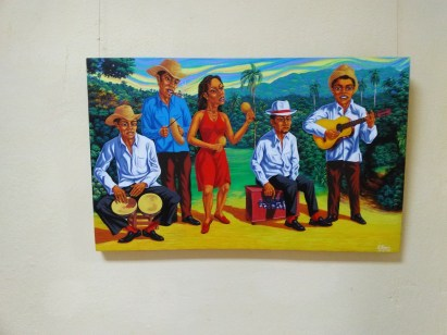 Painting by Elio Fernandez Lugo