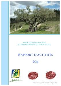 Rapport d'activité AFIDOL 2011