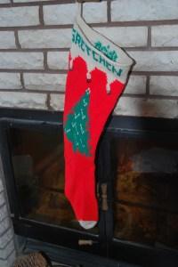 My much-loved sock!