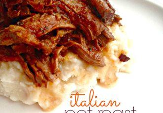 crockpot italian pot roast