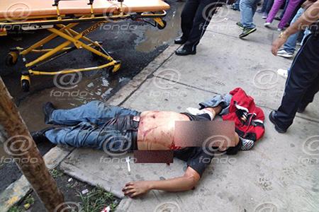 El delincuente huyó luego de dispararle al hombre.