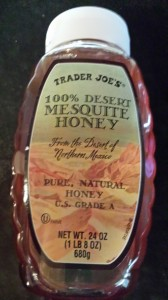Trader Joe's Mesquite Honey (Photo Credit: Adroit Ideals)