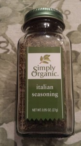 Simply Organic Italian Seasoning is a favorite to spice up my recipes (Photo Credit: Adroit Ideals)