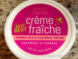 Creme Fraiche is a cultured cream that is used in many dishes (Photo Credit: Adroit Ideals)