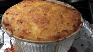 Beefy Shepherd's Pie is ready to eat  (Photo Credit: Adroit Ideals)