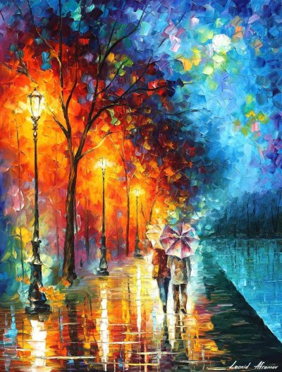 LOVE BY THE LAKE - Oil Painting | Art for Sale
