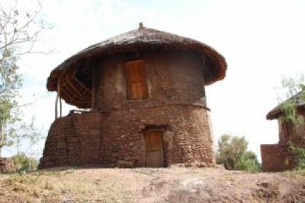 世界遺産にもなっている石造家屋