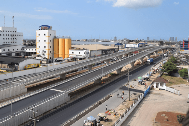 タンザニアの経済発展に貢献!三井住友建設が請け負ったダルエスサラーム市内の高架橋が竣工!