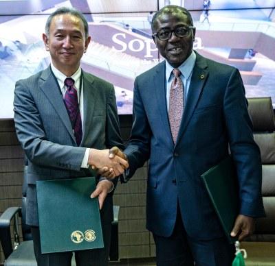 上智大学、アフリカ開銀と連携協定を締結!アフリカの将来を見据えた教育・研究活動を推進!