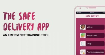Safe Delivery app. Photo from Maternity Foundation. http://www.maternity.dk/