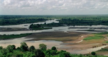 An Aerial photograph of the flooded Tana river. Photo credit: SGT R.A. WARD (http://www.dodmedia.osd.mil/) [Public domain], via Wikimedia Commons