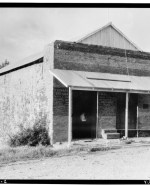 EXTERIOR,_VIEW_OF_FRONT_AND_LEFT_SIDE_-_Wells_Fargo_Express_Office_Building,_North_Highway_20,_Timbuctoo,_Yuba_County,_CA_HABS_CAL,58-TIMTO,2-1.tif