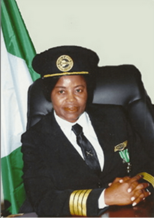 Captain Chinyere kalu Nigeria's First Female Pilot