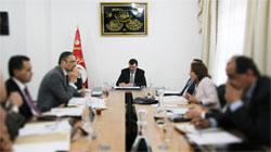 Un conseil ministériel restreint est en cours de réunion au palais du gouvernement à la Kasbah