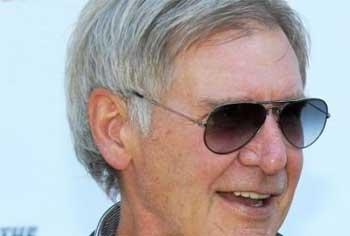 L'acteur américain Harrison Ford
