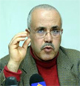 Invité par la Radio Express Fm Ridha Belhaj