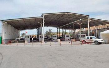 Le point de passage frontalier Ras Jdir