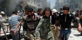 Au moins 31 personnes ont été tuées lundi à Alep
