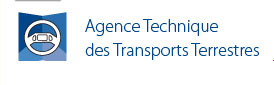 Les agents de l'Agence technique des Transport Terrestre observent
