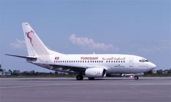 Un vol de Tunisair transportant un nombre de passagers malades et blessés a