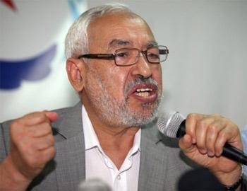 Le chef du mouvement Ennahdha