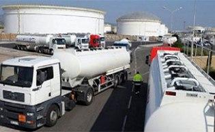 Grève des chauffeurs de transport de carburant Transo