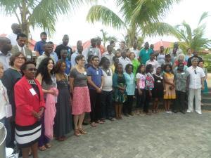 AfriSIG2014 Group photo. 23 nov. Source: APC