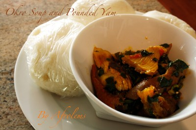 okro and pounded yam_otong