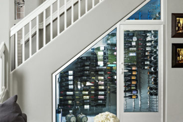 Creative Ways to Utilize Space to Install a Wine Cellar