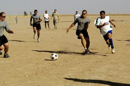 army guys soccer