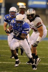 Asher Clark ran for a touchdown on Air Force's first drive of the Armed Forces Bowl. (Air Force file photo)