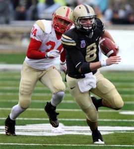 Army quarterback Trent Steelman looks to fulfill what has been absent from the  Army football program for years -- raised expectations. (AP photo)