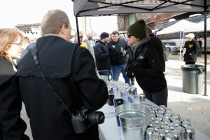 Service Brewing Co. provided refreshments during a charity tailgate at last year's Army-Navy game. This year, another veteran-owned business will make that beer, and others, available to fans who can't make the game. (Staff photo by Mike Morones)