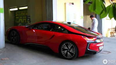 BMW i8 Protonic Red Edition - 31 Maio 2017 - Autogespot