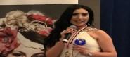 نسرين قتروب ابنة أكادير المتوجة بلقب ملكة جمال الشرق الأوسط:اختياري التمثيل في الخليج العربي سببه العرض المغري الذي تلقيته هناك