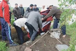 مشعوذون ينتهكون حرمة المقابر وينكلون بجثة امرأة توفيت حديثا