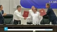 بالفيديو.. اتفاق تاريخي ينهي صراعا في كولومبيا عمره أكثر من نصف قرن