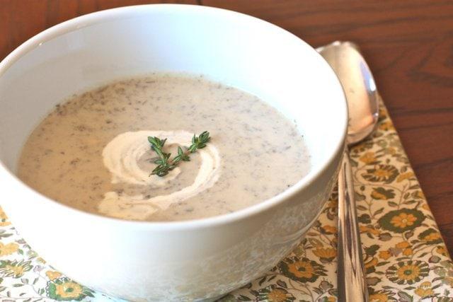 Paleo Cream of Mushroom Soup III