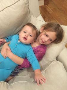 Jojo and Brielle 10-28-15