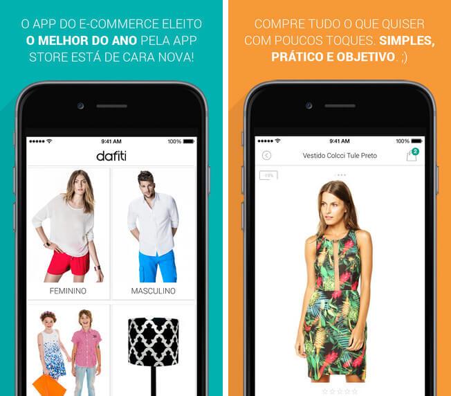 Navegue por mais de 100.000 produtos de mais de 1000 marcas da maior loja de calçados e moda on-line do Brasil, incluindo Nike, Dakota, Santa Lolla e Mizuno. Frete Grátis, nas compras acima de R$ 99,90 e 30 dias para troca gratuita. Disponível para iOS e Android.
