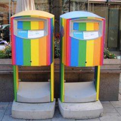 酷新聞:瑞典郵局彩虹企劃第二發 彩虹郵筒限定快閃