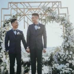 同志婚禮:菲律賓知名設計師 浪漫同志婚禮